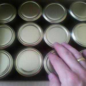 250 g Honiggläser im Karton zu 12 Stück