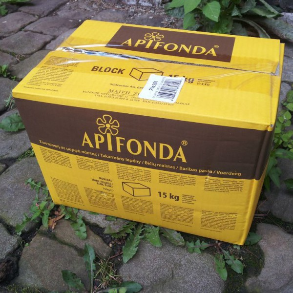 Volle Verpackungseinheit Futterteig Apifonda 15kg