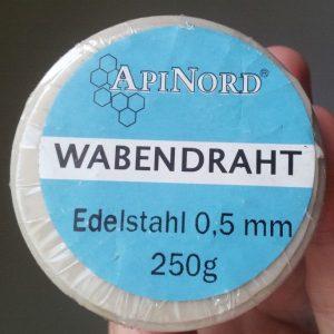 Edelstahl Wabendraht in 0,5 mm