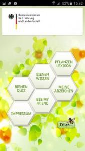 Imkerapp mit Pflanzenfinder und Bienenquiz