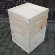 Dadantbeute ohne Stülpdach mit Einfachdeckel