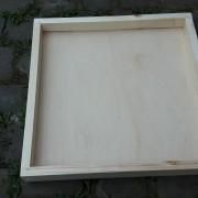 Einfachdeckel für Dadantbeute mit praktischem Stauraum