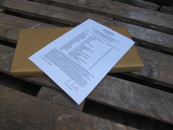 Mittelwand Zander zertifiziert Herkunft Äthiopien