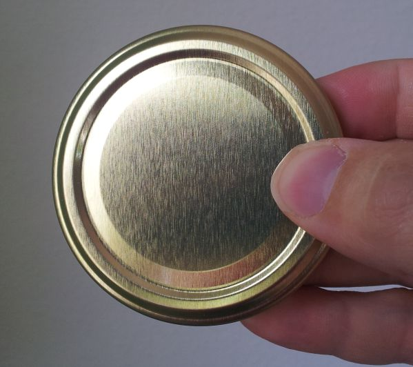 Golddeckel zu Honigglas 250 g