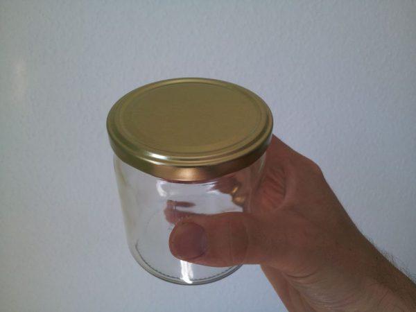 500er Golddeckelglas für Honig