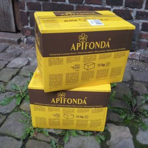 Stapelbarer auch weit umfangreicher, der Futterteig Apifonda 15kg