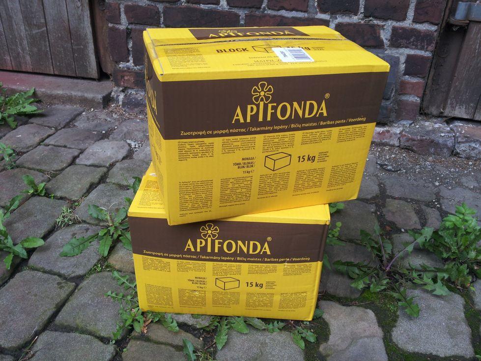 Teig Bienenfutter 15 kg API-Fonda Futterteig Suedzucker Apifonda