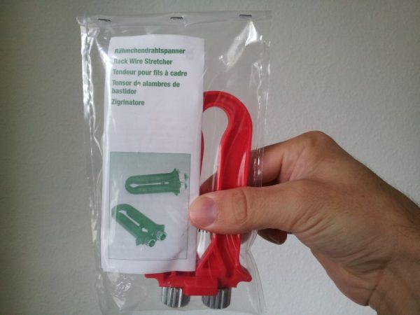 Drahtspanner für die simple Weiterverwendung gedrahteter Rähmchen