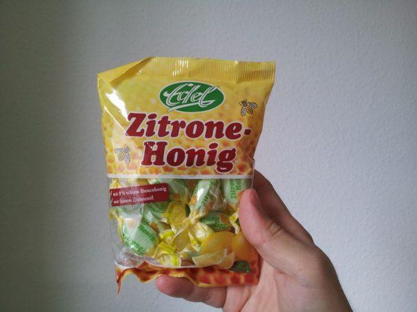 """Honig Zitrone Bonbon von """"Edel"""" aus Deutschland"""