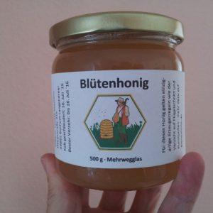 Honig verkaufen an den Bienenhirte