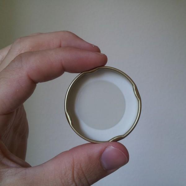 Golddeckel zu 50g Honigglas
