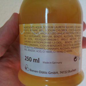 Honigseife mit Handspender 250 ml
