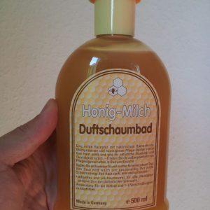 500 ml Honig-Milch zum Baden