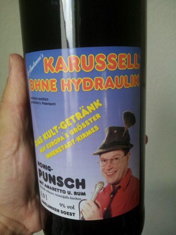 Karusell ohne Hydraulik mit Amaretto und Rum Gluehwein