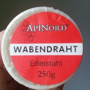 Edelstahl Wabendraht in 0,4 mm