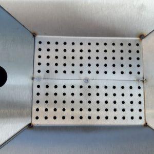 CNC Löcher im VA Wachsschmelzer