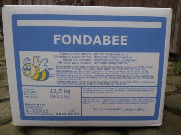 FONDABEE in fünf mal zweieinhalb Kilo Packungen