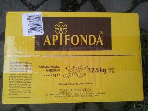 APIFONDA® Karton mit 12,5 kg Futterteig