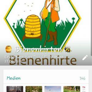 WhatsApp Gruppe für Imker