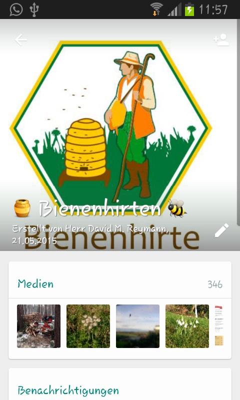 WhatsApp Imker Gruppe für Bienenfreunde und solche die es werden wollen