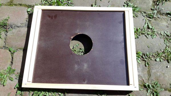 Bienenflucht Rahmen und Platte