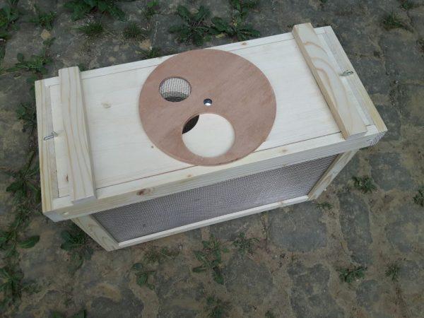 Bienentransoortkasten mit Drehzugang